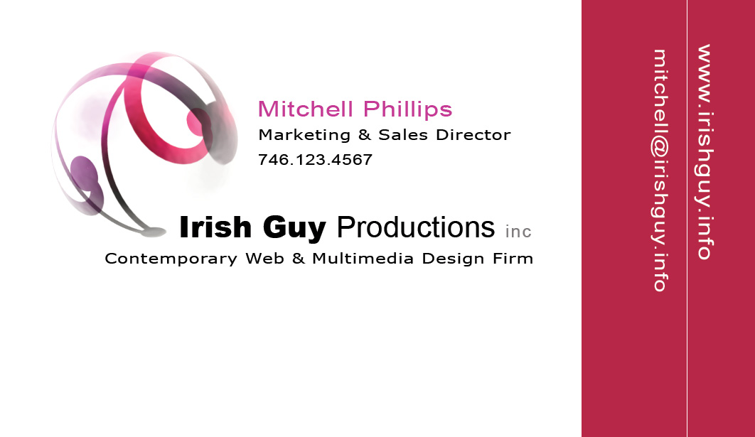 Asheville Business Card Design for Designers