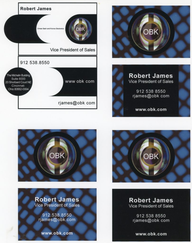Business Card Mock up by graphic designer Gary Crossey
