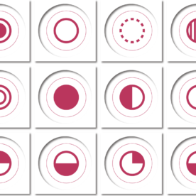 ICONS: Circles, Arrows, & Stars