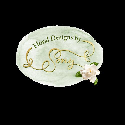 Floral Logo Design by Asheville Graphic Designer