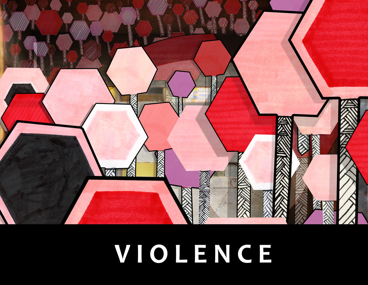 Stop Violence by Gary Crossey