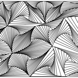 DOODLE ART Straight Lines