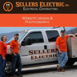 WEBSITE DESIGN Sellers Electric