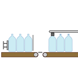 ARTWORK: Technical Illustration – Bottling System