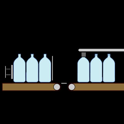 ARTWORK: Technical Illustration – Bottling System