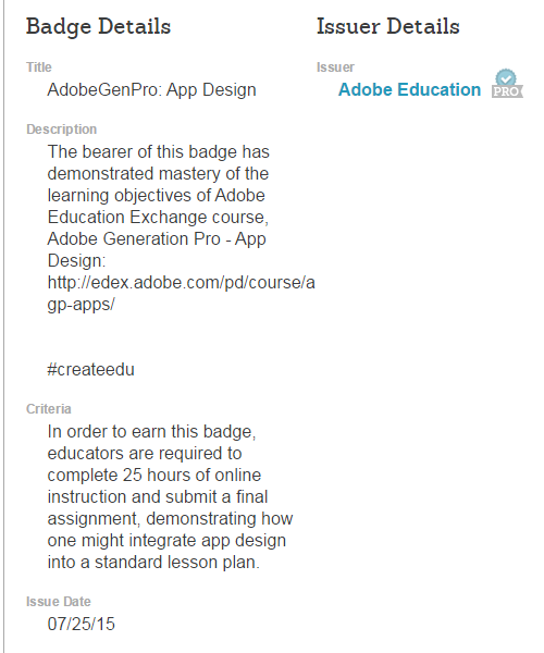 Adobe Award for App Design