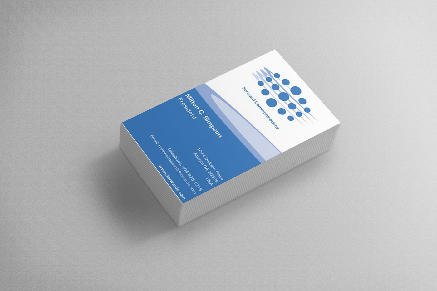 BUSINESS CARD DESIGN Asheville Small Business