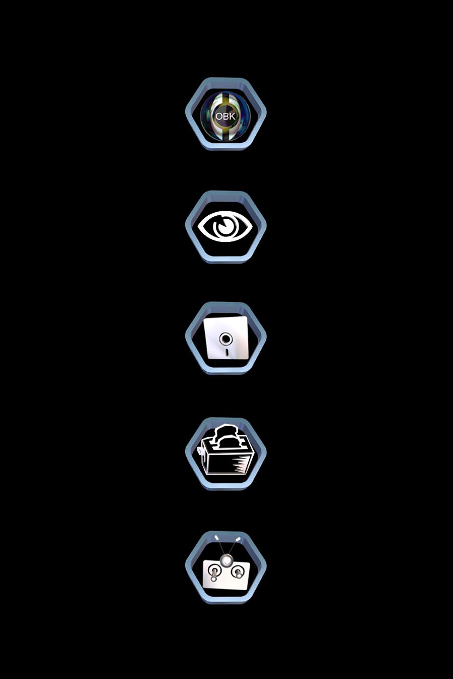 Graphic Design Sample - Icon Layout