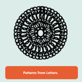 ARTWORK: Pattern – Type Design