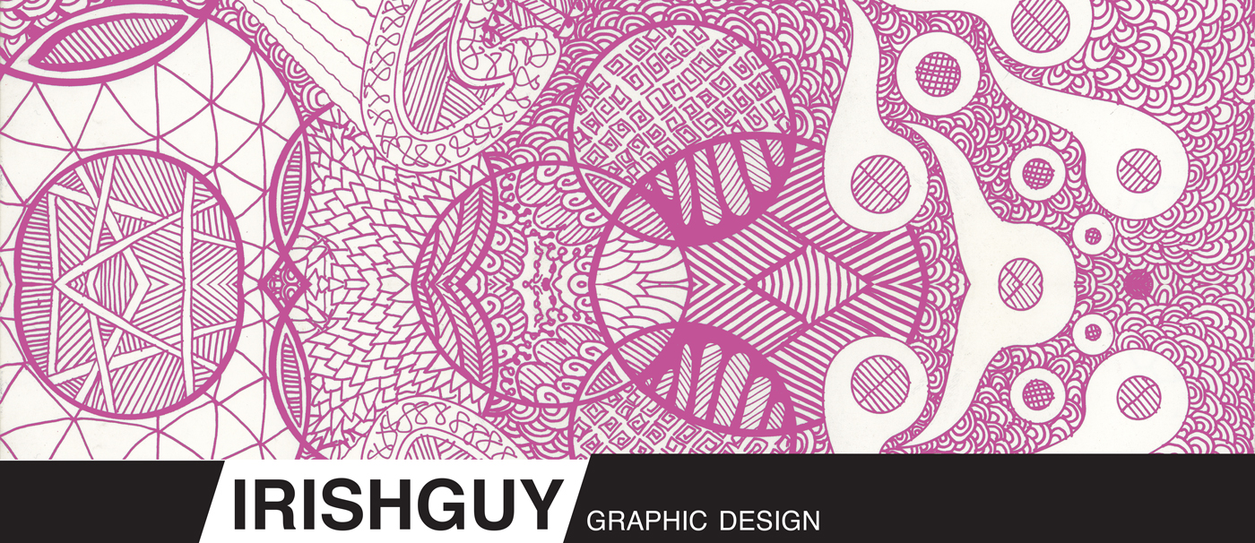 Graphic Design with Doodle Art IrishGuy Grpahic Design
