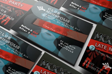Asheville Moogfest Direct Marketing Flyer