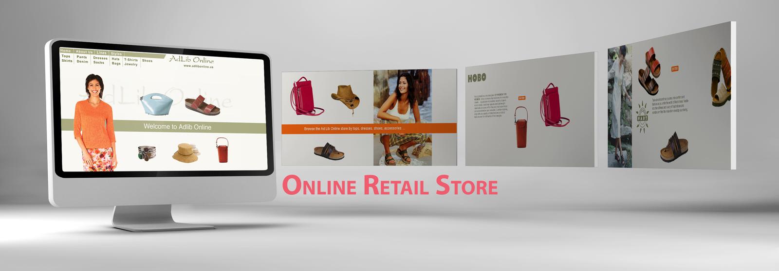 Web Design Sample Asheville Online Retail Store